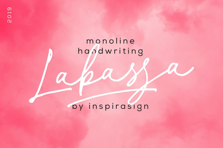 Cover Image For Labasa - Monoline Handwriting