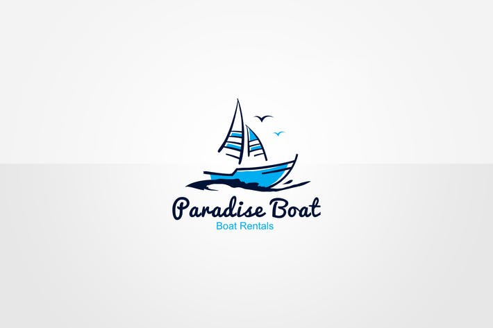 Thumbnail for Boat Logo Template