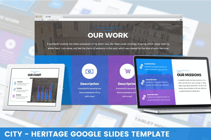 Thumbnail for City - Heritage Google Slides Template