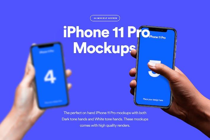 iPhone 11 Pro Mockup - Vol 03