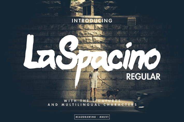 Thumbnail for LaSpacino Typeface