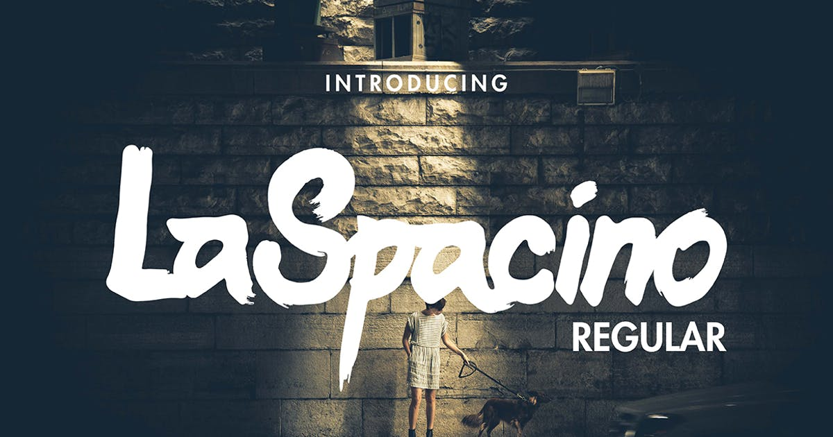 Download LaSpacino Typeface by miaodrawing
