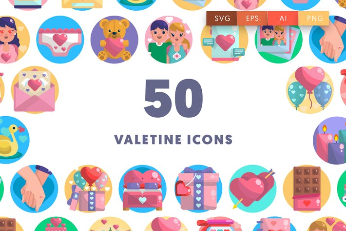 Thumbnail for Valentine Icons
