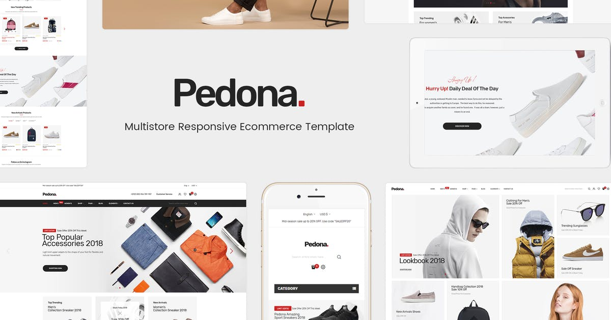 Download Pedona - Opencart Theme (Included Color Swatches) by posthemes