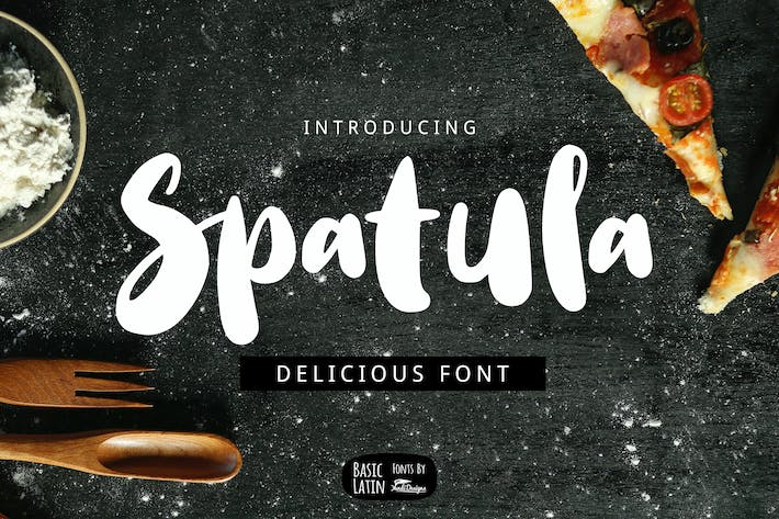 Thumbnail for Spatula Cooking Font