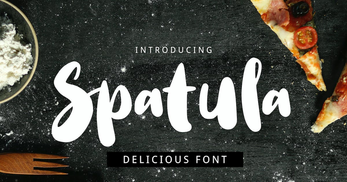 Download Spatula Cooking Font by yandidesigns