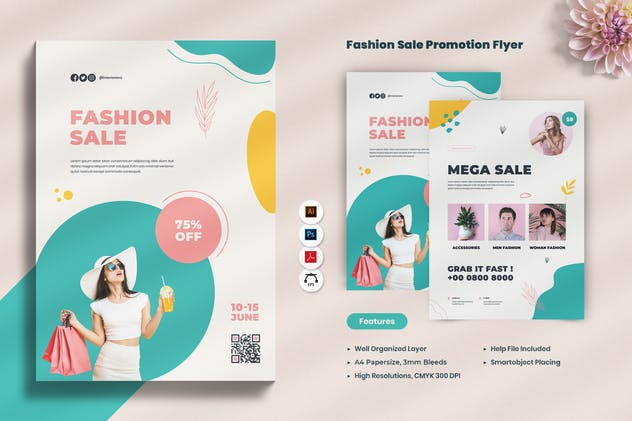 Fashion Sale Promotion Flyer