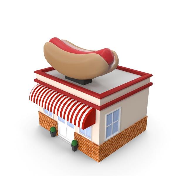 Thumbnail for Cartoon Hot Dog Restaurant