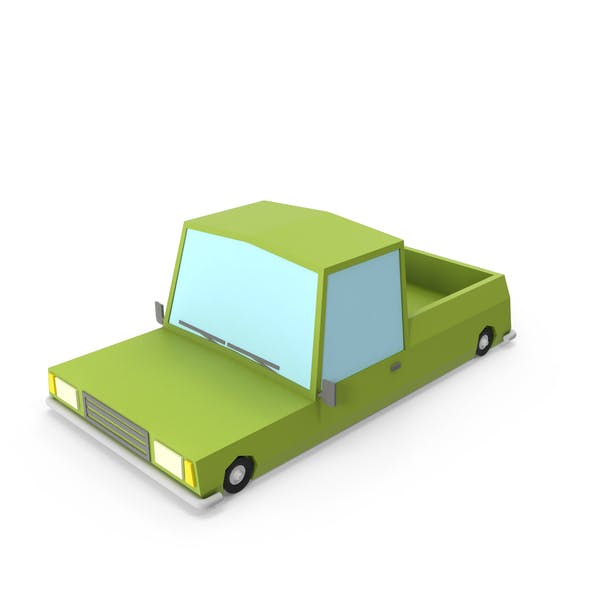 Cover Image for Cartoon Pickup Truck