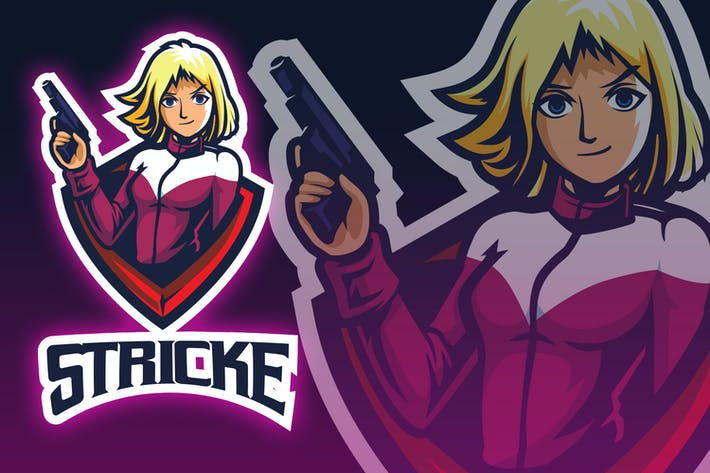 Thumbnail for Guners Girl Esport Logo