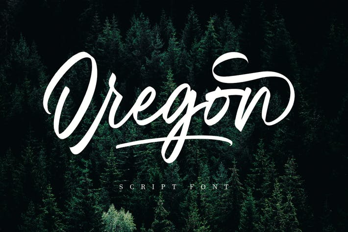 Thumbnail for Oregon Script MS
