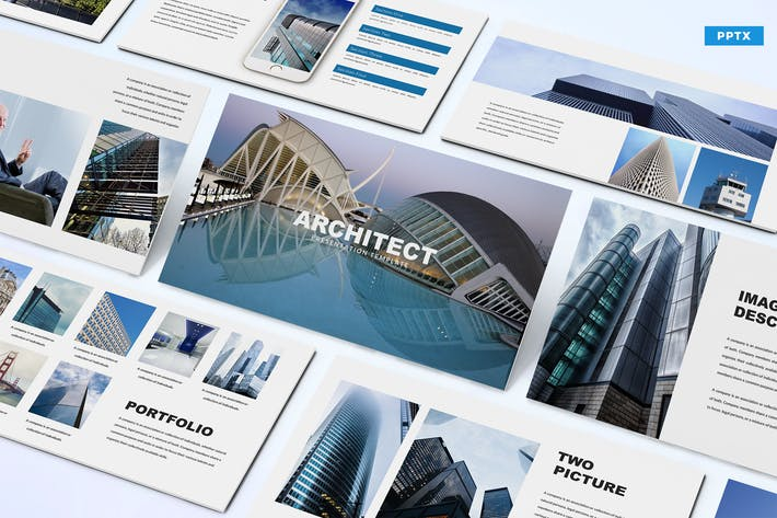 Thumbnail for Architect - Powerpoint Template