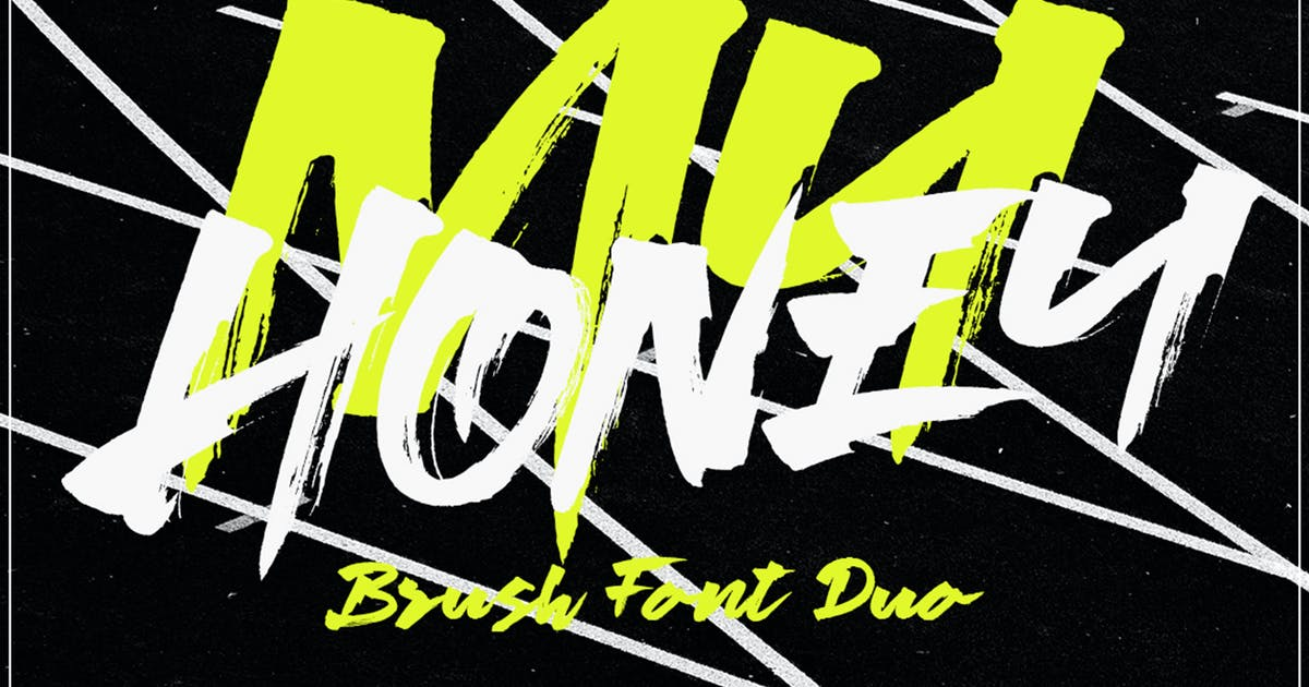 Download My Honey Font Duo by MissinkLabStudio