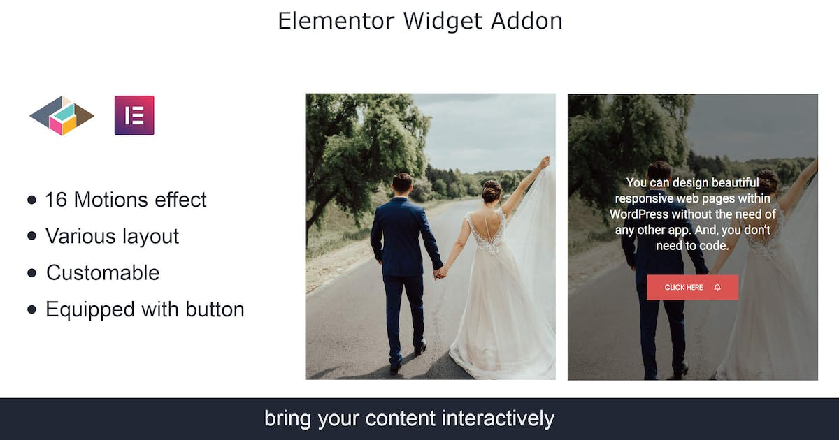 Download Hover Box Elementor Page Builder Addon by TemeGUM