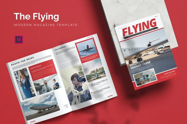 Thumbnail for Flying - Magazine