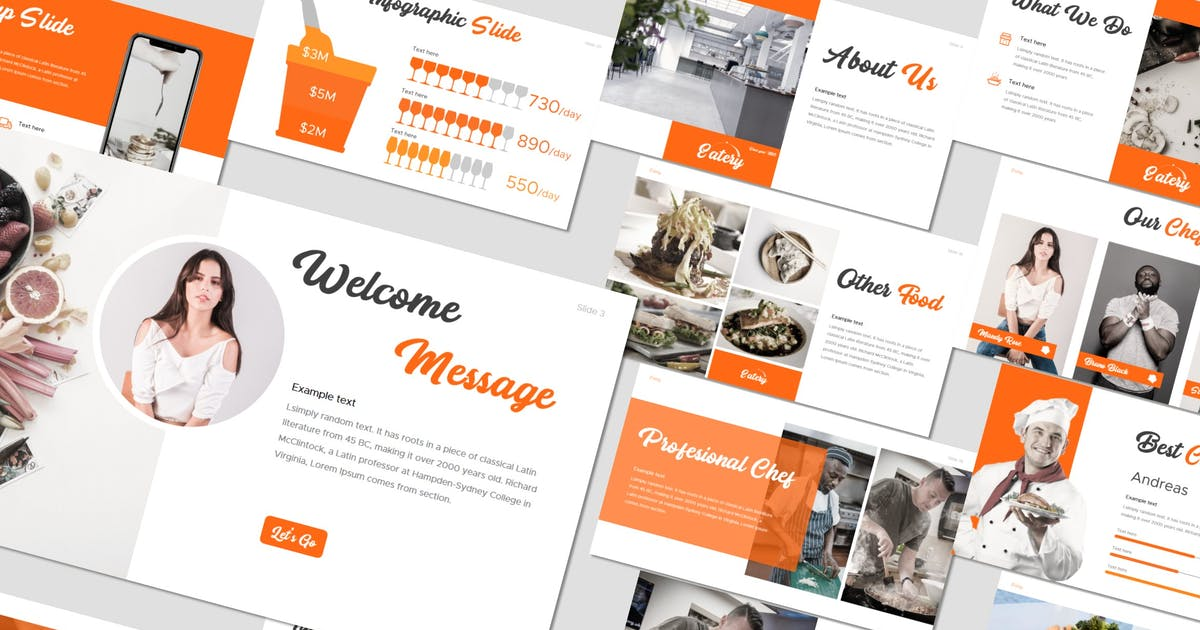 Download Eatery - Keynote Template by inspirasign