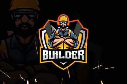 Builder Esports - Mascot & Esport Logo