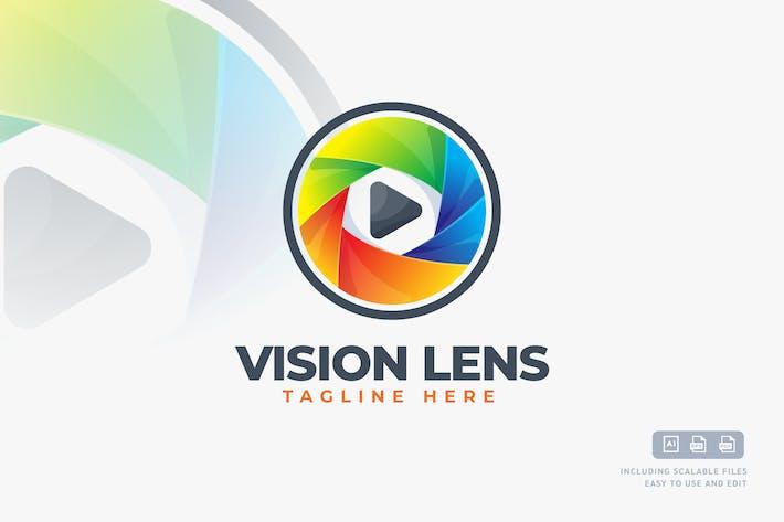 Thumbnail for Vision Lens - Logo Design Template