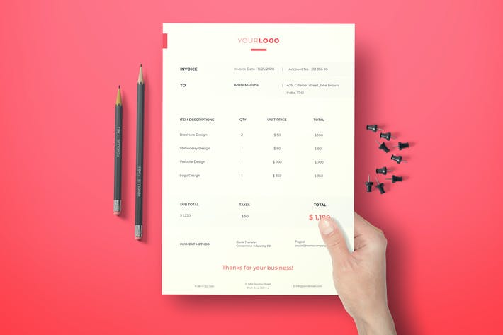 Simple Invoice vol. 10