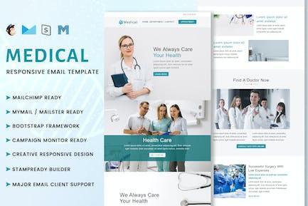Medical - Multipurpose Responsive Email Template
