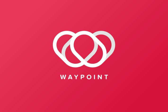 Thumbnail for Way Point Logo Template