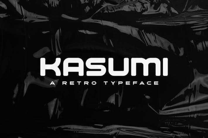 Kasumi Tipo de letra