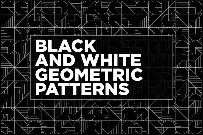 Thumbnail for Black And White Geometric Patterns