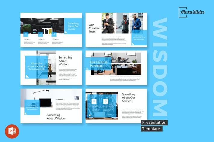 Thumbnail for Wisdom - Powerpoint Presentation Template
