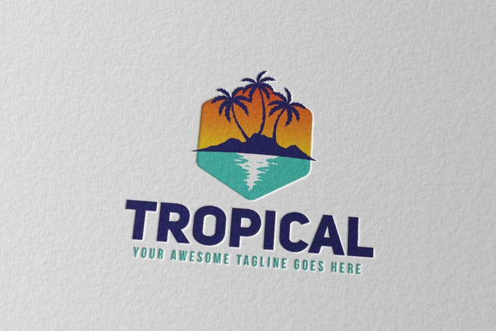 Thumbnail for Tropisches Logo