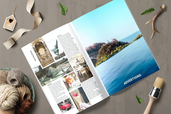 Thumbnail for Magazine Template 7 - TH