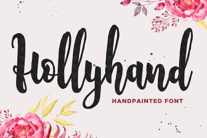 Thumbnail for Holyhand Script