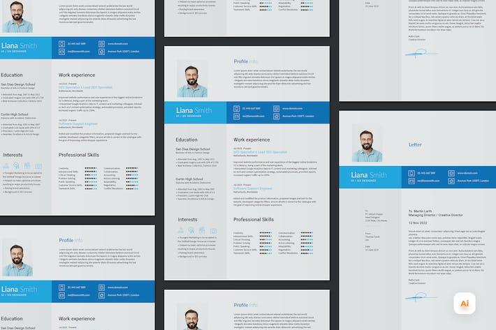 Professional Quality CV / Resume Template