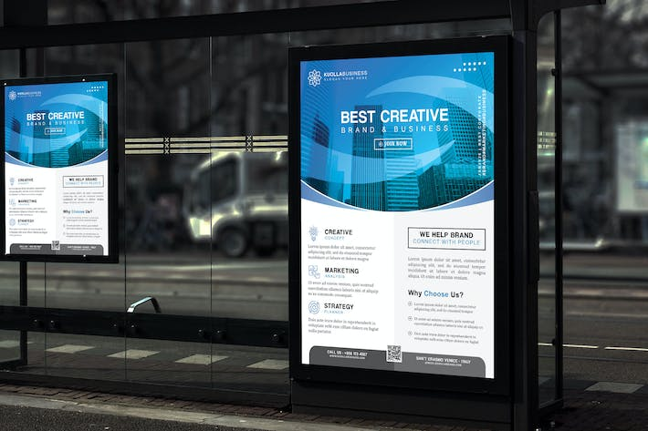 Thumbnail for Kuolla - Creative Brand and Business Poster HR