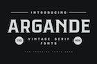 Argande - Vintage Serif Font