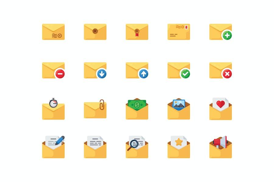 20 Envelope icons