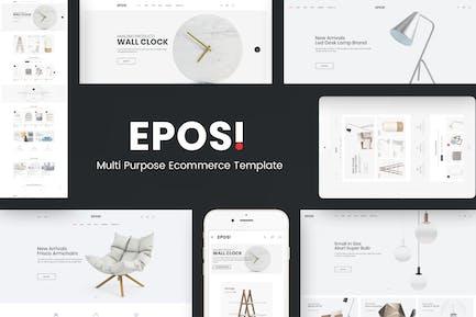 Eposi - OpenCart Responsive Theme