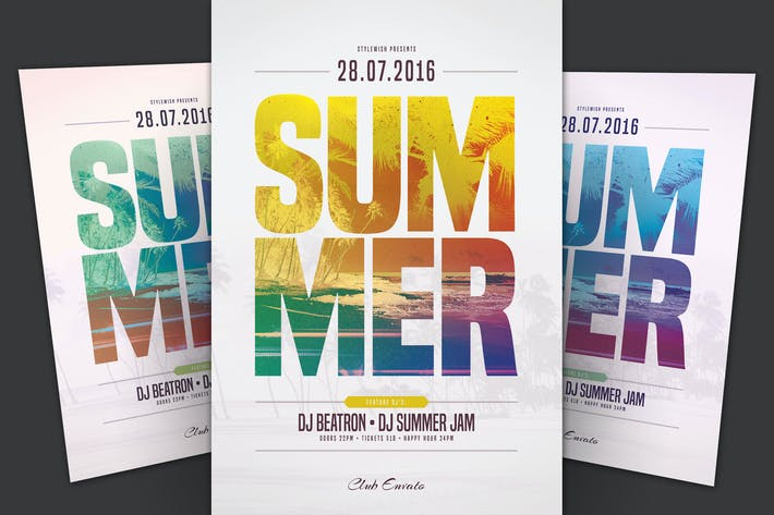 Cover Image For Summer Flyer