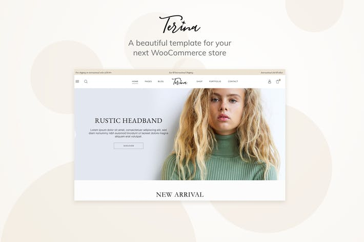 Thumbnail for Terina - Mehrzweck Elementor WooCommerce Thema