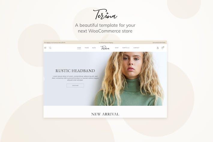 Thumbnail for Terina - Multipurpose Elementor WooCommerce Theme