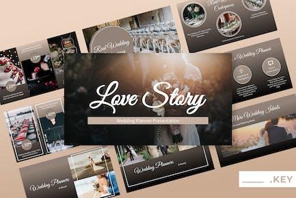 Love Story - Wedding Keynote Presentation