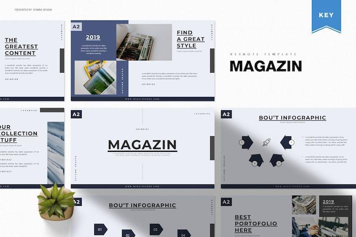 Thumbnail for Журнал | Шаблон Keynote