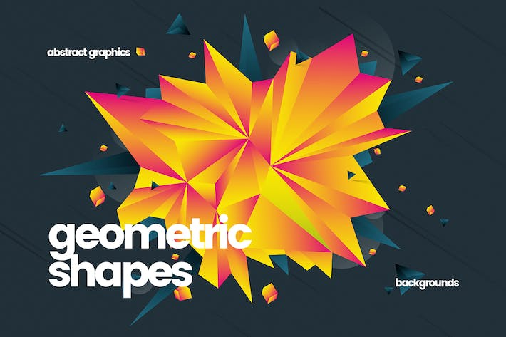 Thumbnail for Abstract Geometric Shapes Backgrounds