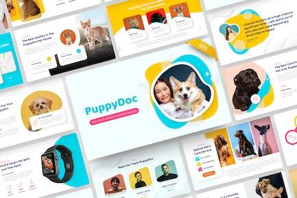 PuppyDoc - Pet Care & Animal Google Slide Template
