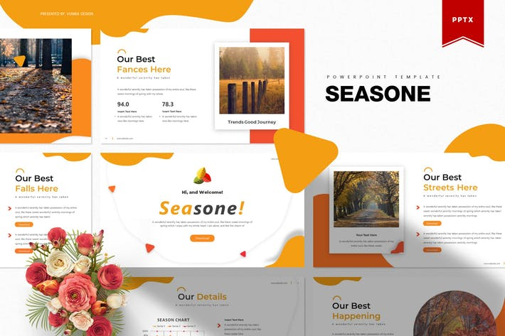 Thumbnail for Seasone | Powerpoint Template