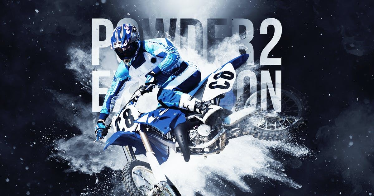 Download Powder Explosion 2 Photoshop Action by Hemalaya1