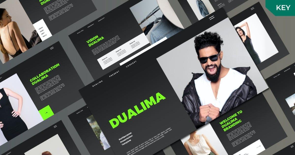 Download Dualima Keynote Template by axelartstudio