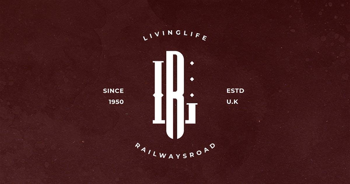 Download LR Monogram Logo by sagesmask