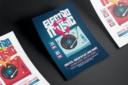 EDM Party Flyer