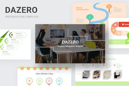 Dazero - Timeline Infographic Powerpoint
