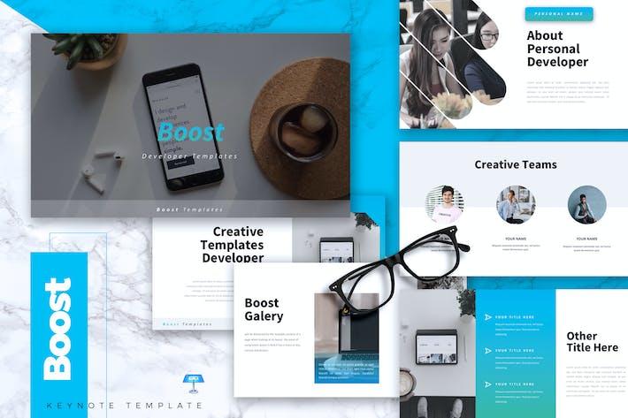 BOOST - Шаблон Keynote ИТ-компании